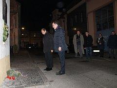 Den boje za svobodu a demokracii ve Slaném