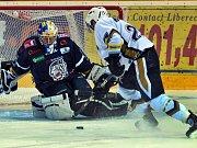 Liberec - Kladno 6:0, Pinc kryje šanci Dragouna