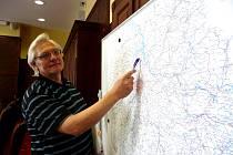 LAGUNA VODY na Mělnicku byla podle pracovníka krizového štábu Iva Bedrny jen o kousek menší než v roce 2002.