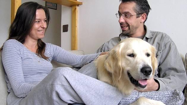 Kladenská lékařka si svoje rodinné štěstí už nedá nikým zkazit. S manželem Pavlem mají harmonický vztah.