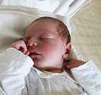 JOSEF KINDL, KLADNO. Narodil se 15. dubna 2017. Váha 3,82 kg, míra 51 cm. Rodiče jsou Kateřina Janková a Josef Kindl (porodnice Kladno).