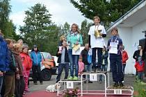 Mezinárodního mistrovství České republiky v lodní třídě Optimist.