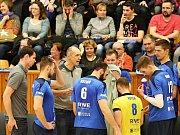 Kladno volejbal cz - Aero Odolená Voda 3:0, EX-M čtvrtfinále, Kladno, 15. 3. 2017