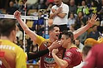 Kladno volejbal cz - Dukla Liberec 1:3, SF Extraligy volejbalu (konečný stav 1:3), Kladno, 12. 4. 2019