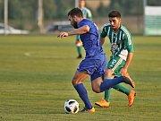 Sokol Hostouň - FC Slavoj Vyšehrad 5:4, 1. kolo Českého poháru - MOL CUP, 15. 8. 2018