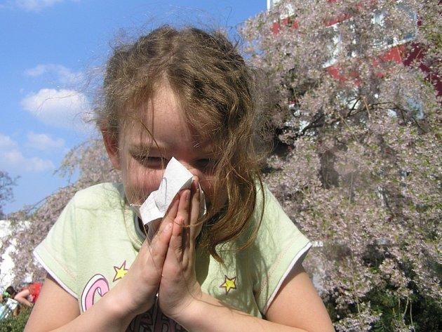 Alergie se může projevit u člověka jakéhokoli věku.
