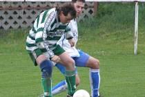 Kolečský Karel Pacek se v Mutějovicích neprosadil. Jenže on je vůbec dobrý, že se po sérii zranění do fotbalu vrátil.
