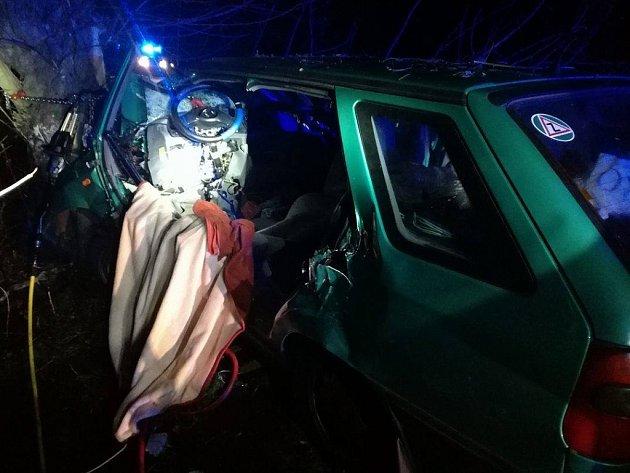 Štedrovečerní nehoda na Kladensku