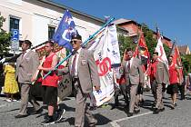 Kladenští sokolové oslavili 120. výročí položení základního kamene kladenské sokolovny.