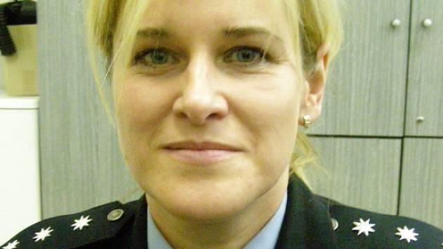 Olga Janouchová pracuje u policie ve Velvarech třináct let. V současné době je vedoucí místního oddělení.