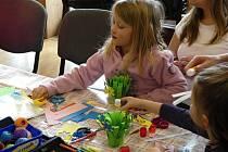 Přípravu na Velikonoce si užili děti i dospělí v Avesu .