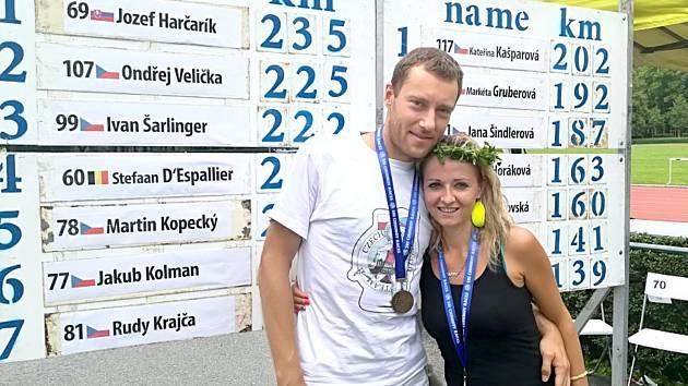 Kateřina Kašparová a Ondřej Velička.