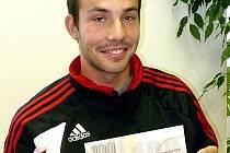 Štěpán Sviderka ze Stochova, vítěz 4. kola Fortuna ligy.
