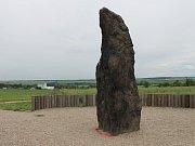 Menhir - Kamenný pastýř v Klobukách