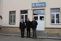 Nádraží ve Slaném bylo po rekonstrukci ve středu slavnostně otevřeno.