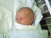 ŠTĚPÁN BUŠEK, NOVÉ STRAŠECÍ. Narodil se 13. listopadu 2018. Po porodu vážil 4,4 kg a měřil 53 cm. (porodnice Kladno)