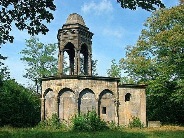Kaple Božího hrobu ve Slaném.