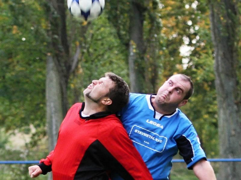 OP: Přítočno se Stochovem nakonec smírně 1:1, hráno 6. 10. 2012