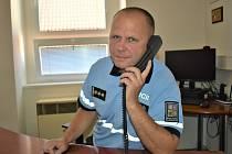 Václav Hatlman, ředitel Územního odboru Policie České republiky v Kladně.
