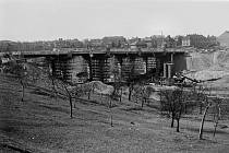 Most spojil Sítnou s centrem města.