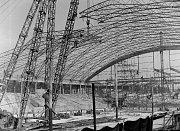 Stadion byl zastřešen v roce 1959.