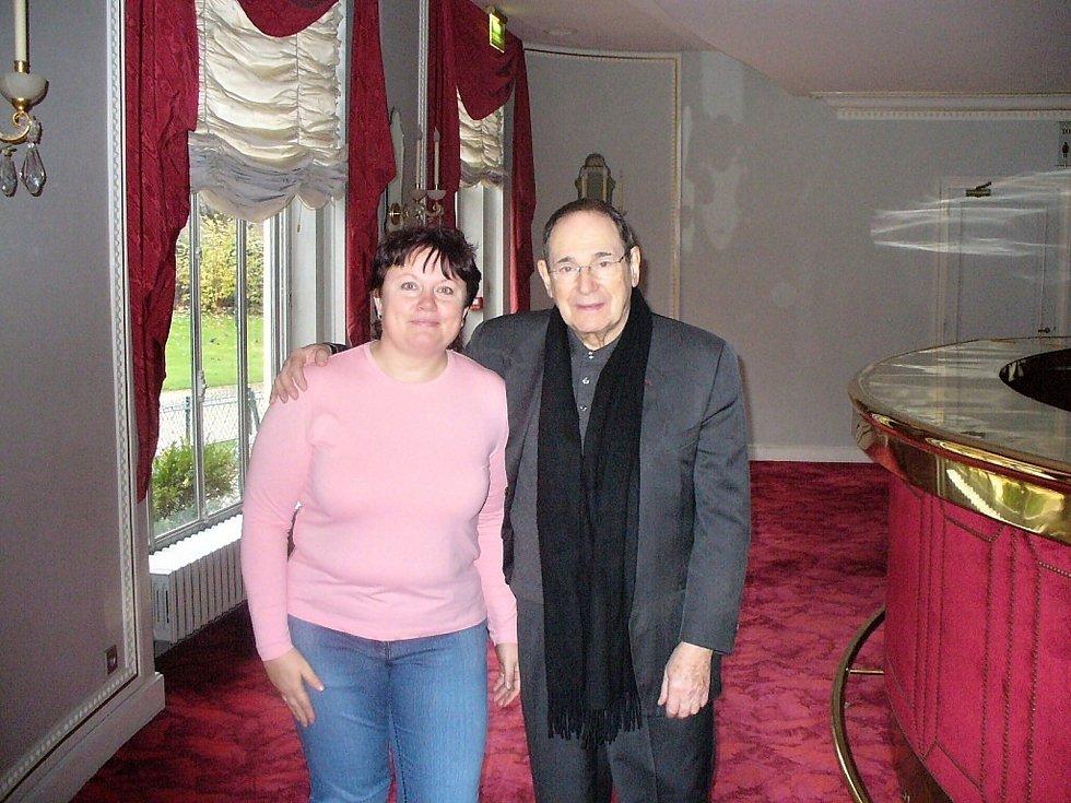Alena Podolská s Robertem Hosseinem.