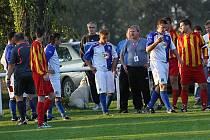 Sokol LIDICE - Slovan VELVARY 6:3 (5:2), utkání I.B tř. stč. kraj, A3A 0406 tř. 2010/11, hráno11.9.2010
