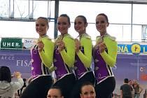 Aerobic Dancers Kladno navazuje na slavnou éru.
