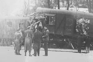 K tragédii na železnici došlo v lednu roku 1964.