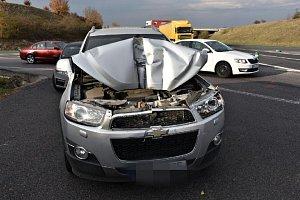 Na Kladensku se staly v pondělí odpoledne hned tři nehody.