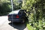 Opilá řidička bourala u Kladna, naštěstí nikoho nezabila.