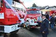 Při slavnostním otevření zbrojnice byla představena také nová Tatra Terrno.