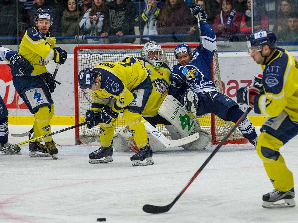 Kladno - Ústí, 2. zápas play off. Pád Grattona přes Volkeho
