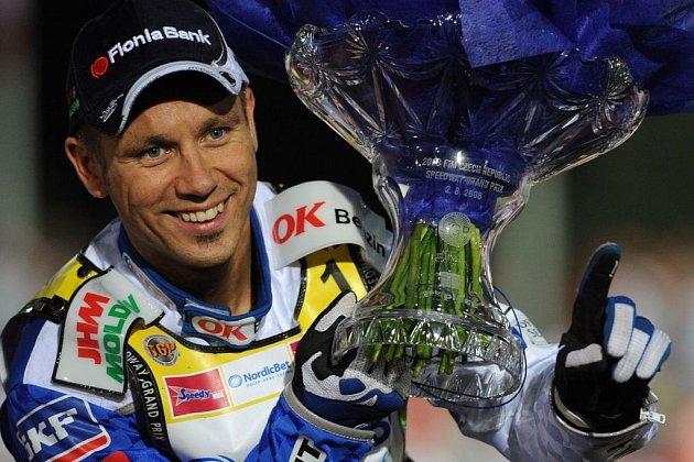Mistr světa Nicky Pedersen pojede ve Slaném.