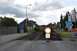 Smečenská ulice v Kladně bude uzavřena do konce srpna.