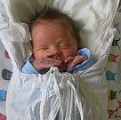 MICHAL KOSINA, KLADNO. Narodil se 23. května 2017. Váha 3,1 kg, výška 46 cm. Rodiče jsou Martina Kosinová a Daniel Kosina (porodnice Kladno).