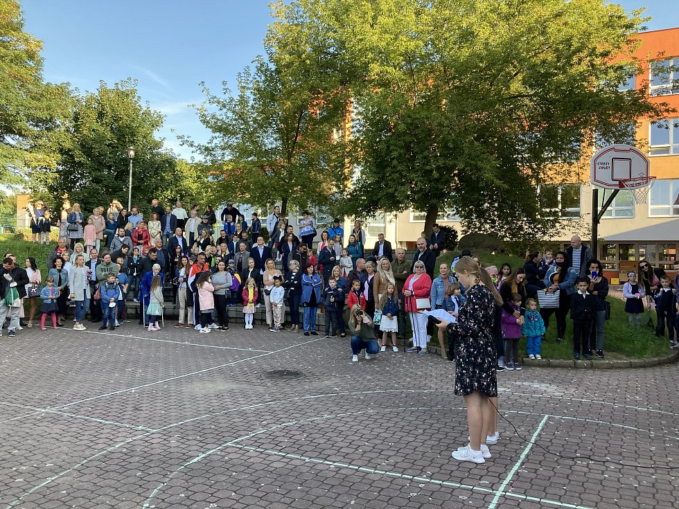 Do slánských škol nastoupilo 1. září 2021 více než 200 prvňáčků.