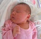 ELIŠKA RYBOVÁ, LOUNY. Narodila se 18. června 2017. Váha 4,14 kg, míra 50 cm. Rodiče jsou Lenka Hnilicová a Petr Ryba (porodnice Slaný).