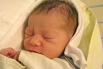 Samuel Kalaš, Louny, 23.9.2011, váha 3, 40 kg, míra 50 cm, rodiče jsou Monika a Jiří Kalašovi (porodnice Slaný)