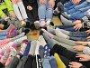 OBRAZEM: Školáci uspořádali ponožkový den podporu lidí s postižením