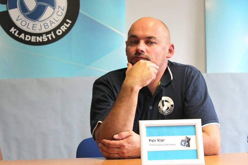 Volejbalisté Kladna se chystají na sezonu. Petr Klár povede tým žen