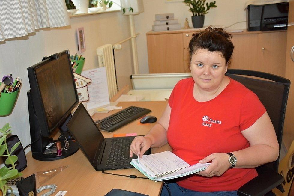 Ředitelka Farní charity Slaný Nina Kubištová.