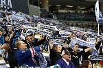 Na kladenském ČEZ stadionu se fandilo i v pátek.