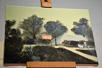 Plátna Kamila Lhotáka jsou k vidění v muzeu ve Slaném.
