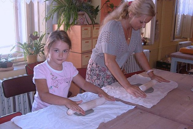 Poslední prázdninové dny tráví děti na slánském Ostrově