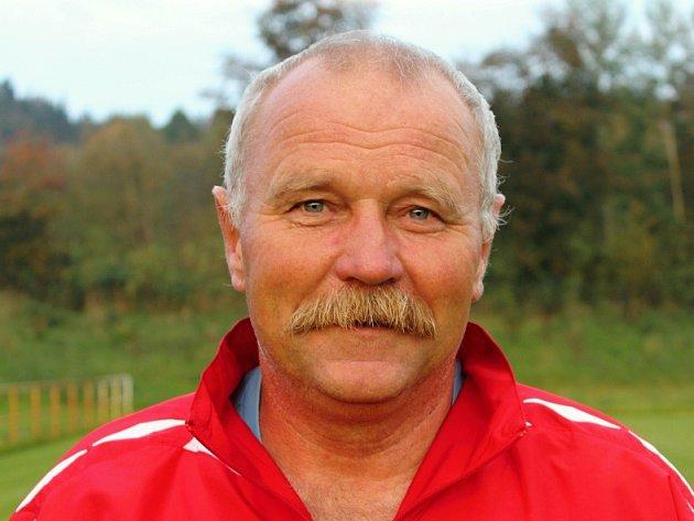 Fotbalový trenér Miroslav Supáček.