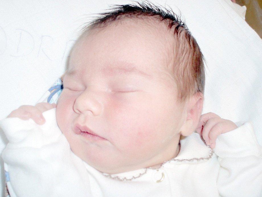 Nela Podrazká, Žižice. Narodila se 28. května 2013. Váha 3,6 kg, míra 51 cm. Rodiče jsou Martina Podrazká a Tomáš Podrazký (porodnice Slaný).
