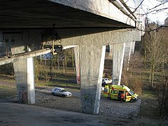 Sítenský most je častým místem sebevrahů. V poslední době případů přibylo.
