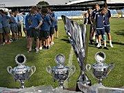 Kladenský pohár 2017. Turnaj pro kategorii U15 proběhl poslední červencový víkend na Stadionu Františka Kloze