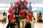 Dancers Kladno, vítězný tým seniorek.
